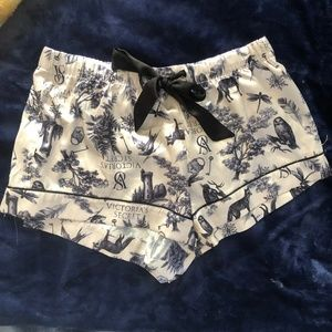 Victoria's Secret Satin Pajama Shorts Size Small